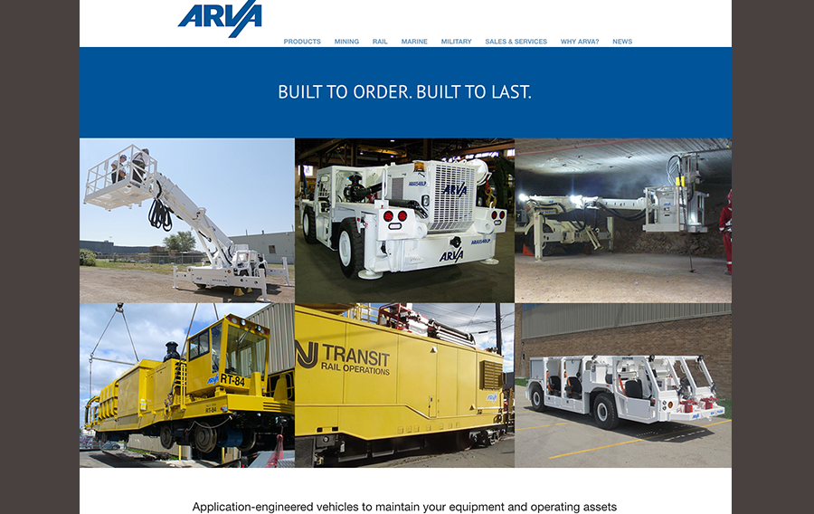 arva home page
